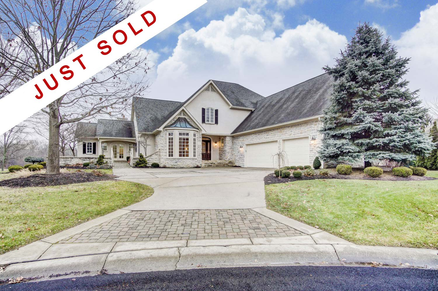 Just Sold this Luxury home in Blacklick, OH along hole 3 on Jefferson Country Club