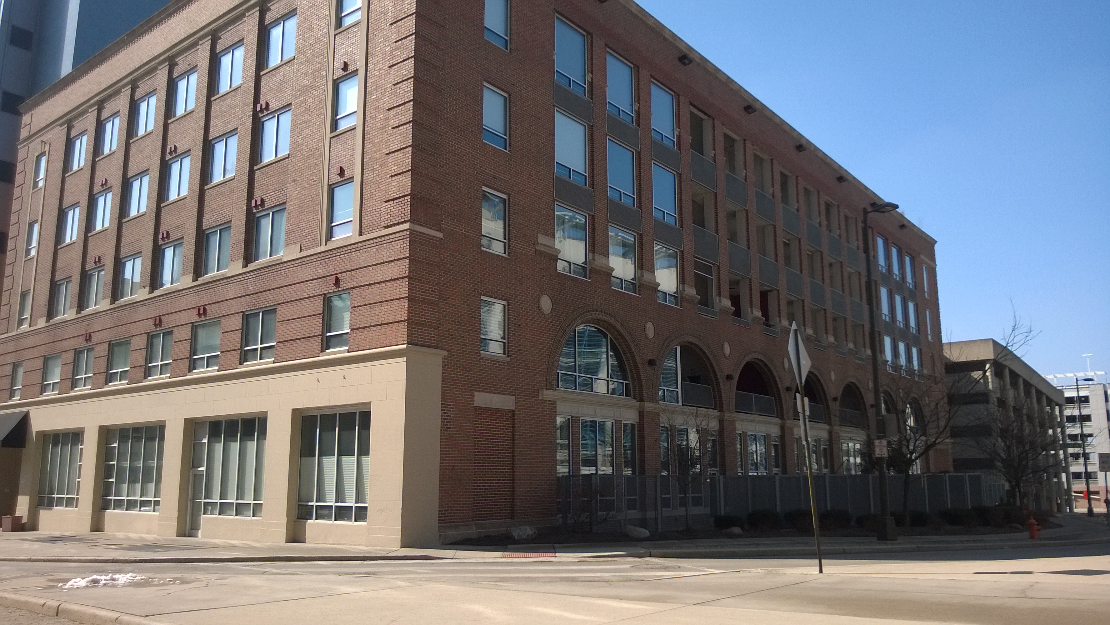 Arena District Lofts condominiums in downtown Columbus Ohio