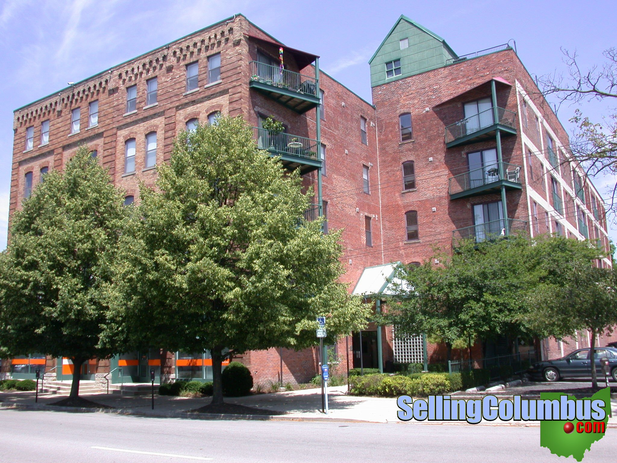 Rich Street Lofts condominiums in downtown Columbus Ohio