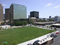 South-East area of Columbus Commons in downtown Columbus, Ohio