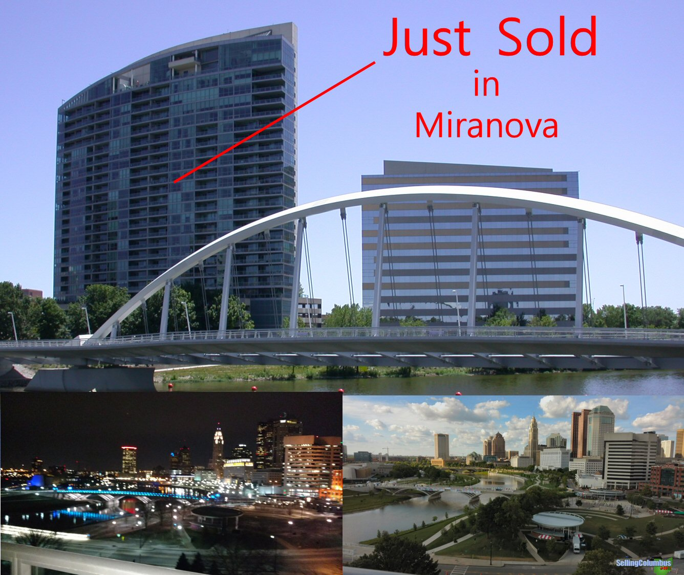 Just Sold in Miranova, downtown Columbus, 1 Miranova Place 1230, Columbus, OH 43215