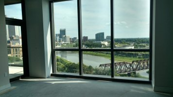 Parks Edge condominiums now under construction in downtown Columbus Ohio