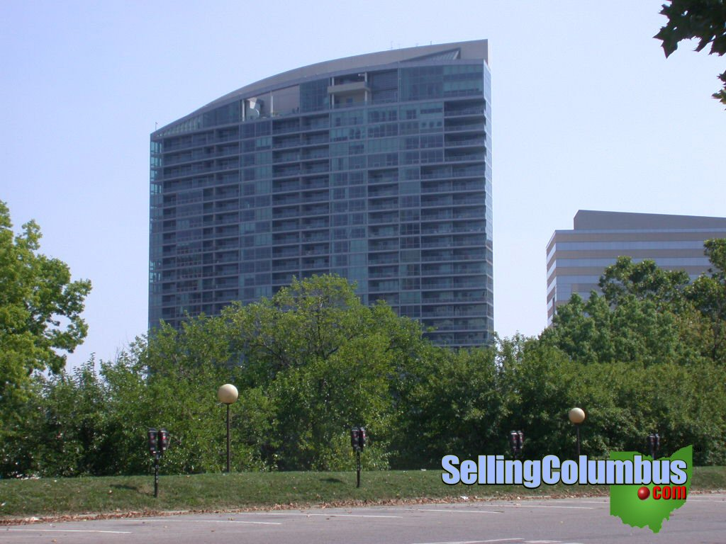 Miranova condominiums in downtown Columbus Ohio