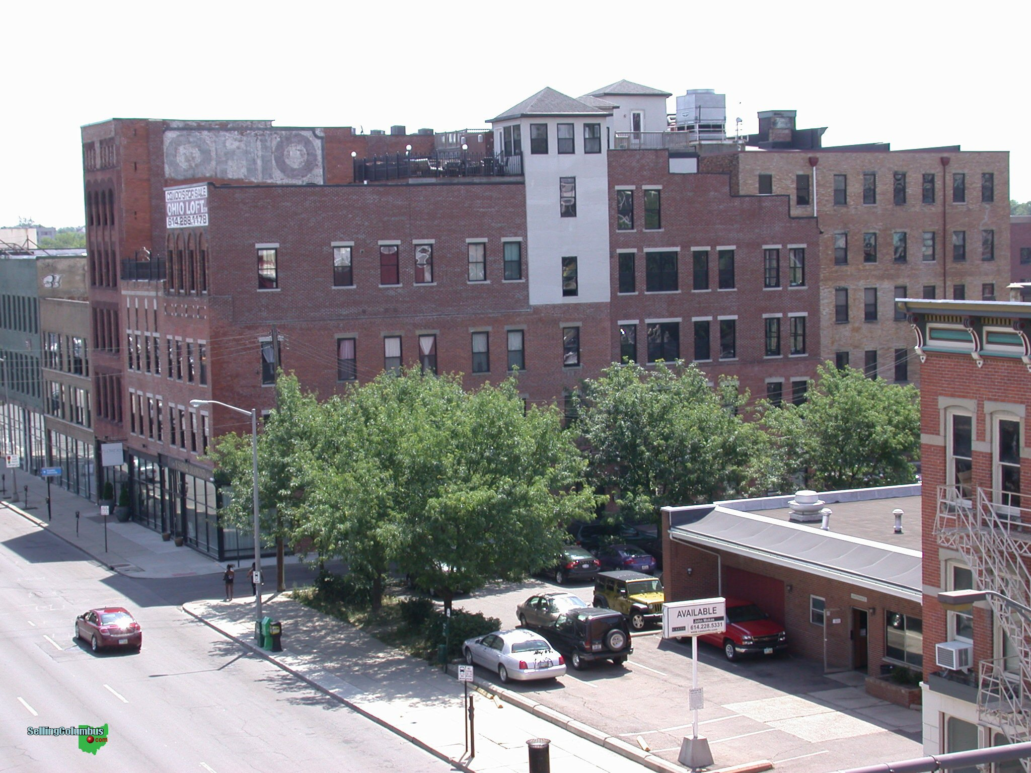 Ohio Lofts condominiums in downtown Columbus Ohio