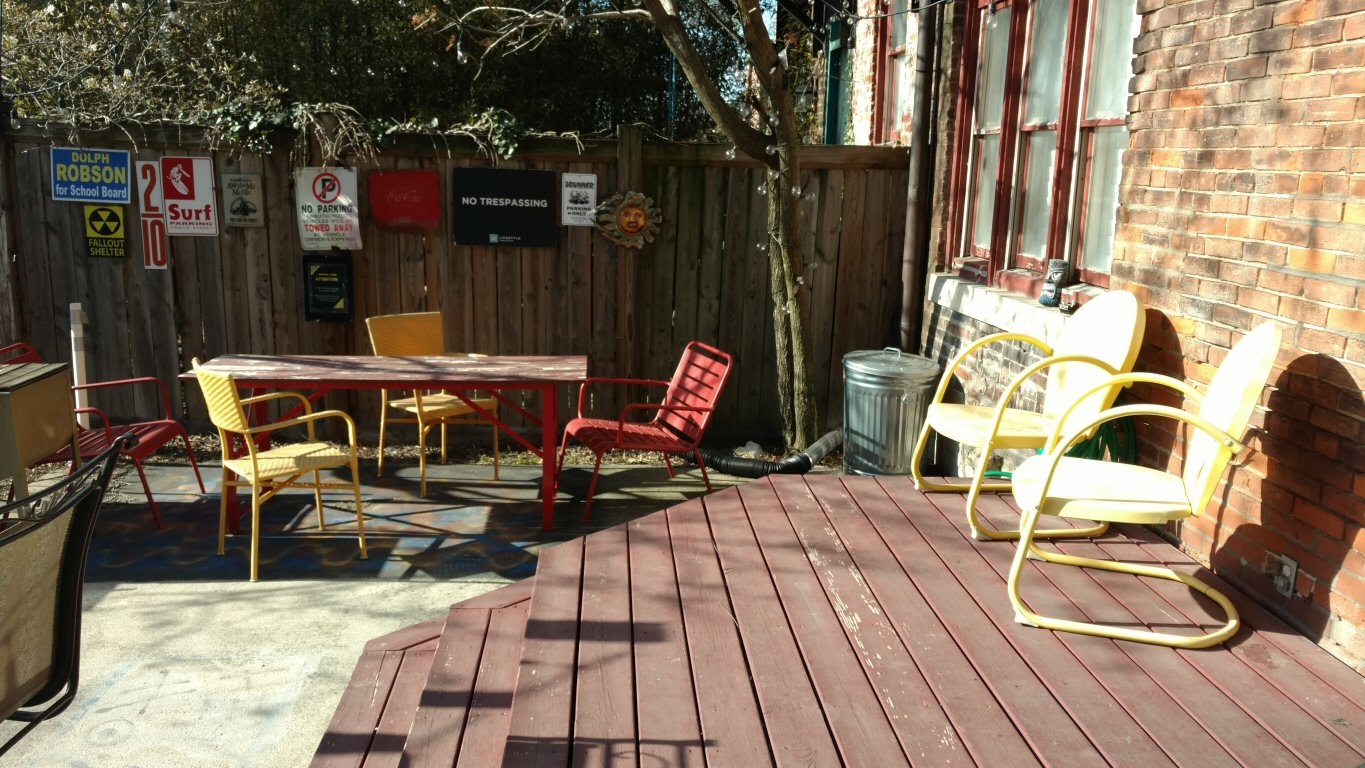 Picture of the Back Yard patio at 95 Hamilton Park, For Sale in Columbus, Ohio