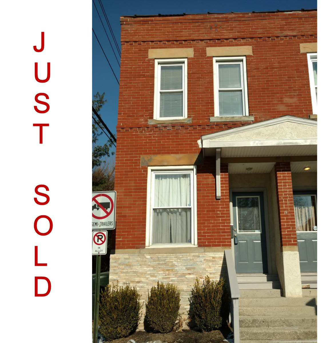 Just Sold in Short-North Harrison West, Columbus, Ohio.