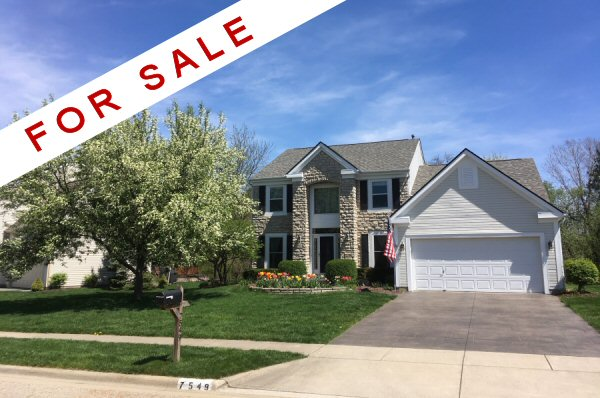 Home For Sale at 7549 Storrington Place, Lewis Center, OH 43035