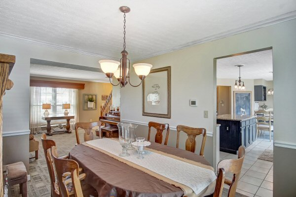 Dining Room of of 8350 Oak Creek Dr, Lewis Center, OH
